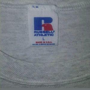 Russell Athletic Shirts - VINTAGE DUKE University T-shirt sz L